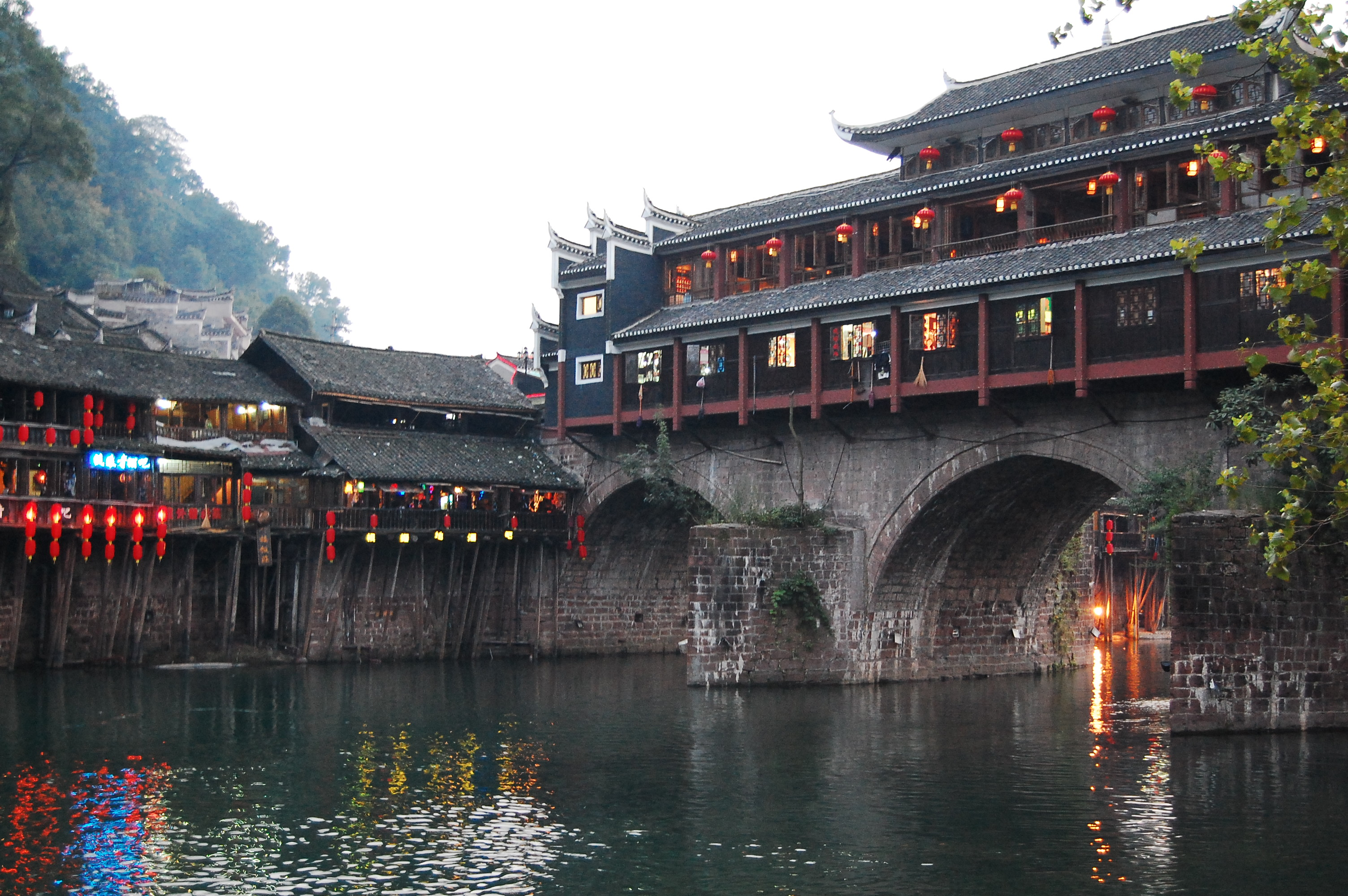 fenghuang ancient towns in china