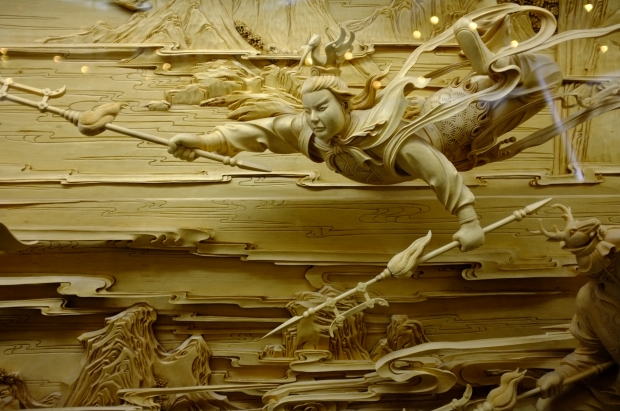 Dongyang woodcarving the dying art retireediary