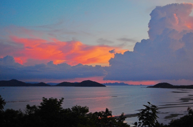 Clouds Over Koh Samui, Thailand