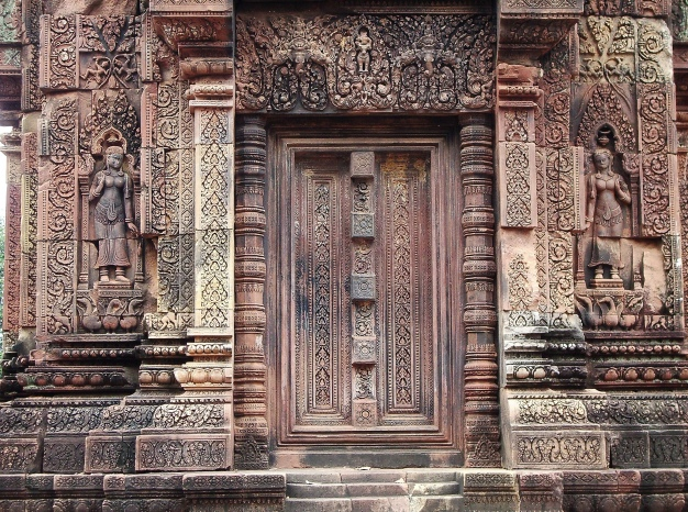 Wordless Wednesday: Details at Angkor Wat